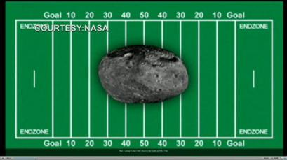 Americans Disappointed Approaching Asteroid Not Measured in Football Fields