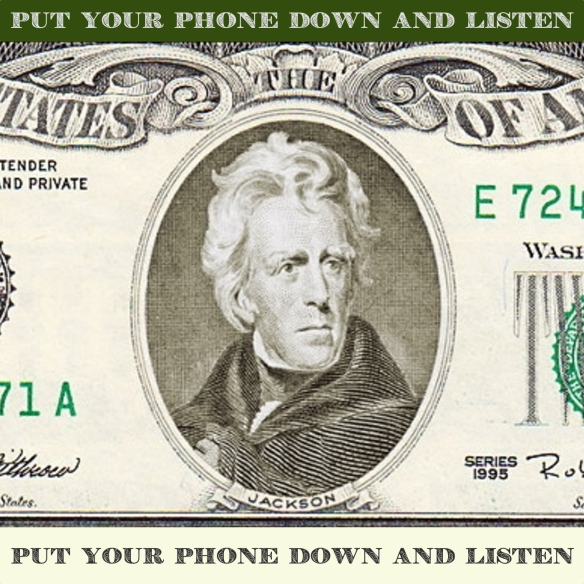 Andrew Jackson, Time Traveler